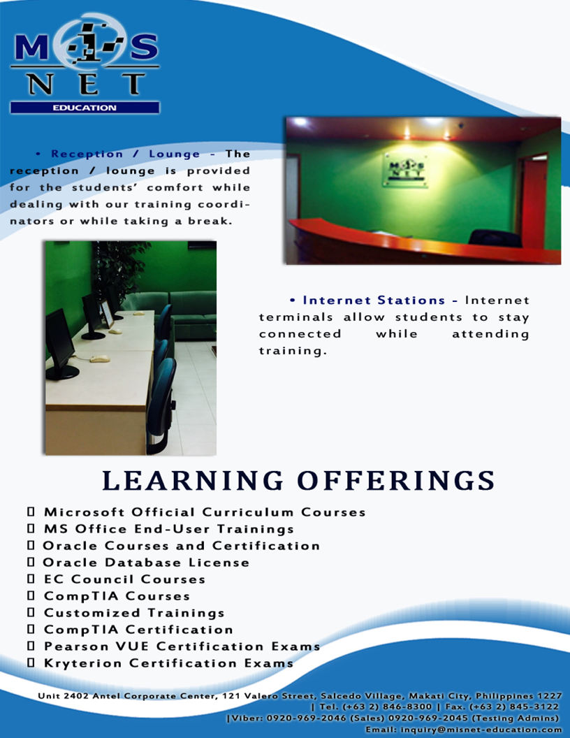 The Leading Provider Of Information Technology Training And It